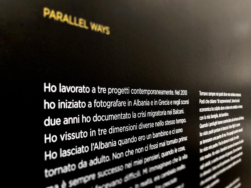 SpazioReale Enri Canaj Parallel Ways
