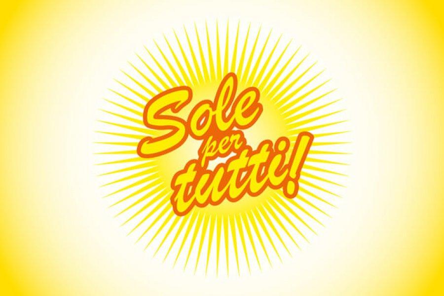 Sole per tutti